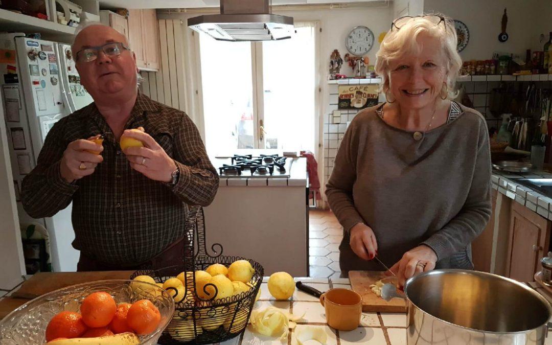 Confiture de Citrons et Gelée de Mimosa